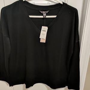 Luxespun boxy long sleeve shirt